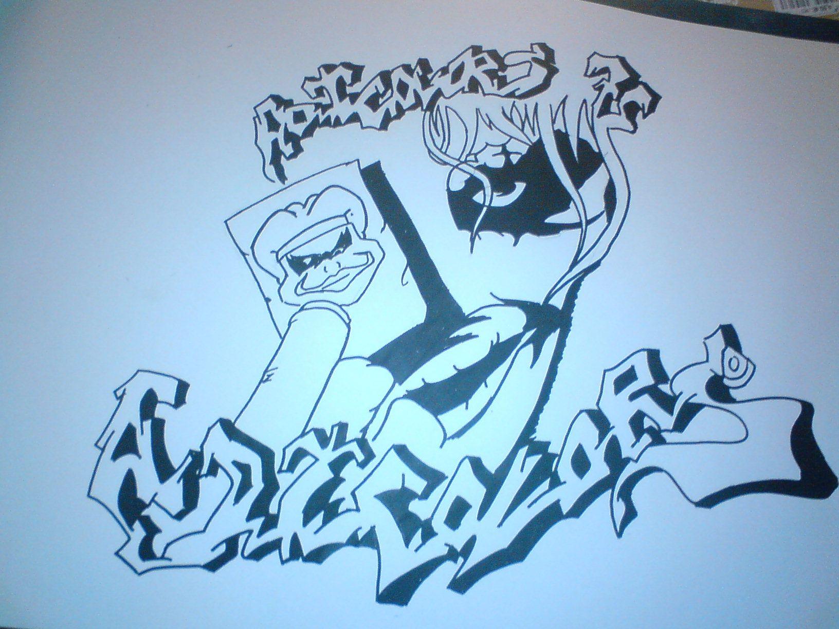 adicolors 75 - Dessin Graffiti
